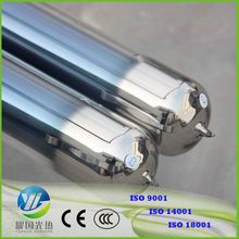 Solar Vacuum Glass Tube 58*1800Mm Direct Flow Evacuated Tube Solar Collectors