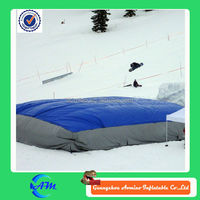 inflatable stunt air bag for sale inflatable jumping air bag for skiing jumping pillow
