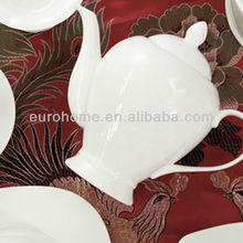 DS033 China fine bone china dinnerware for hotel restaurant