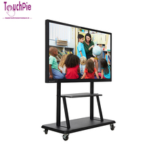 55 inch classroom 10 points multi touch interactive whiteboard smart tv