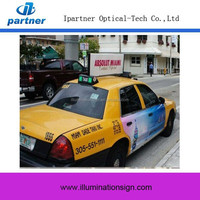 Custom Advertisement Taxi Sign Car Led Roof Lamp