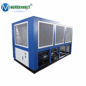 China manufacturer industrial screw water chiller