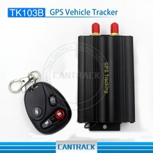 Real time tracking by SMS Platform Vehicle and motorcyle gps tracker TK103B remote control cut engine oil