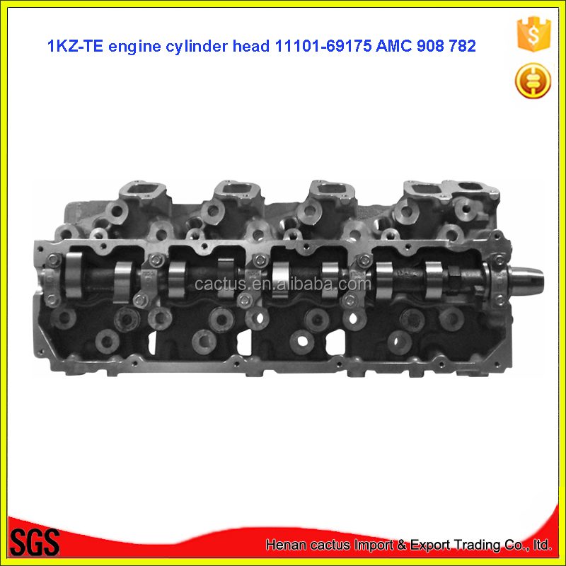 Complete 1KZ-TE cylinder head 11101-69175 For Toyota