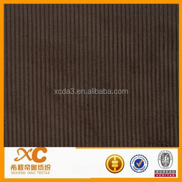 wide 18 wale corduroy fabric for men's shirt made in japan