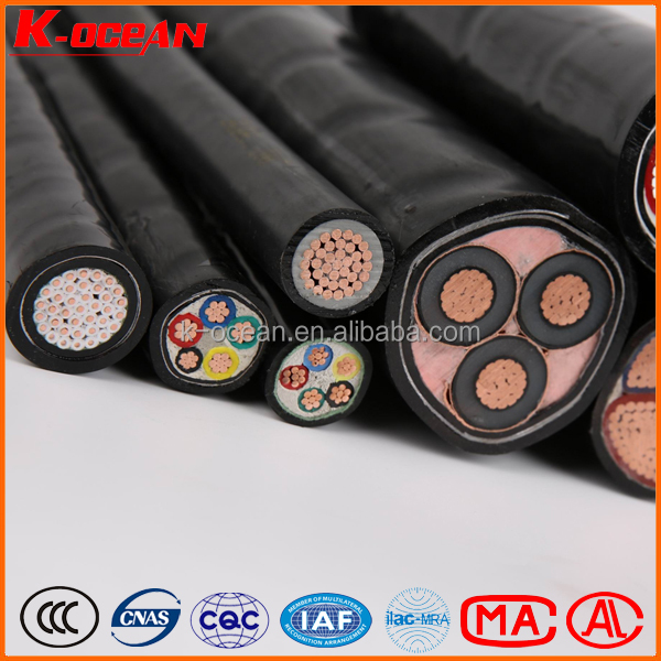 China Factory 0.6/1kV Low Voltage 3x2.5mm Copper Power Cable