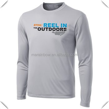 Custom polyester dry fit fishing t shirt outdoor fishing for Custom dry fit shirts