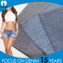 light soft non-stretch double faced 100% cotton denim fabric