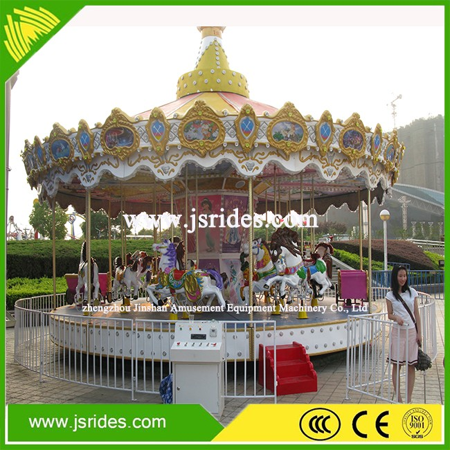 Children games indoor carousel ride/merry go round for funfair