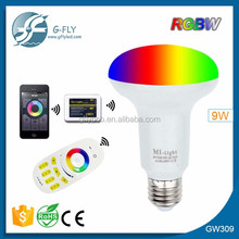 High lumen R80 led light bulbs wifi led bulb rgb lamps
