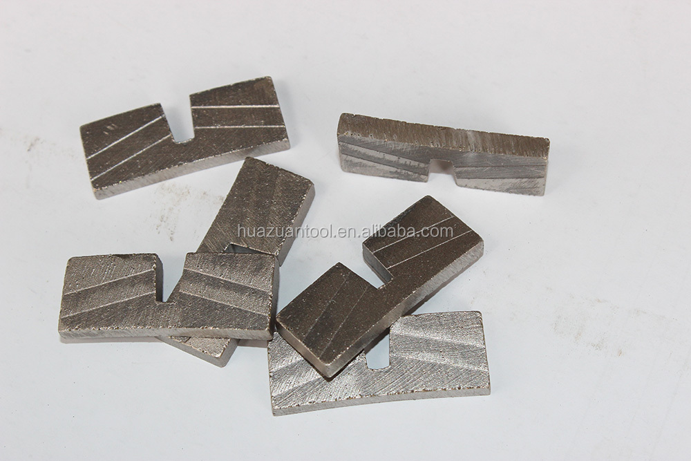 Stable performance U type granite stone cutting segment