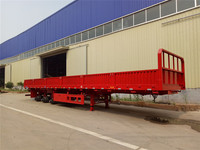 3 axle side wall express cargo trailers hauler