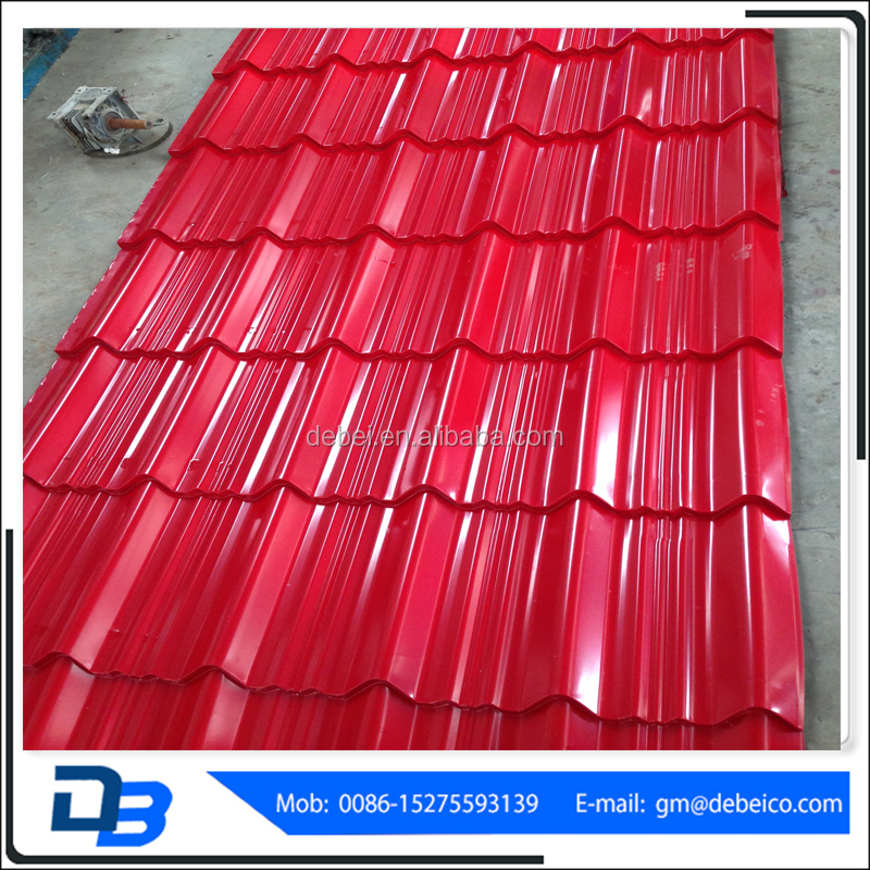 Best Selling 980 Ppgi Prepainted Color Roof Tile