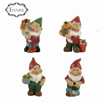 Creative gifts resin funny miniature gnome garden statues