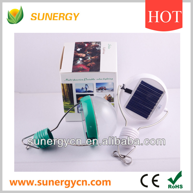 solar powered led bulbs with usb cable for outdoor and indoor