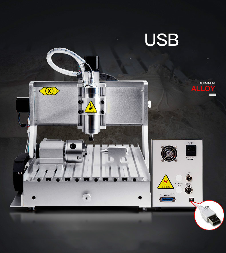 China 3 axis mini 3040 cnc milling machine for copper aluminum steel curving engraving good price