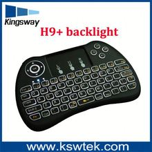 H99 Mini Hand-held Wireless QWERTY Keyboard Remote Controller Air Mouse Combo 2.4GHz Wireless Connection