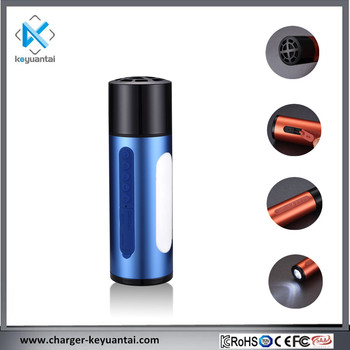 5200mAh Speaker Bluetooth Flashlight Torch with Charger Black Speaker