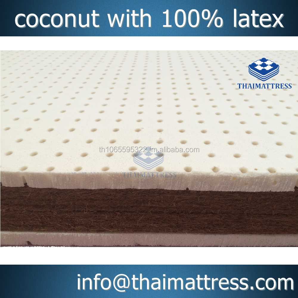 Coconut Fibre with 100% natural latex mattress