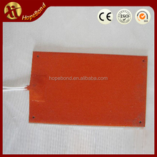 high quality 300x300 heatbed silicone rubber heater flexible thermoelectric 3d printer heating mat/element