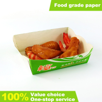 Disposable paper fried chicken box fried chicken boxes for food paper box packaging