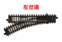 ho scale model plastic train materials track for architecture model toys