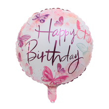 Wholesale New 18-inch Happy Birthday Aluminum Foil Balloons Birthday Party