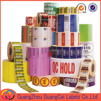 Custom Deisgn Self adhesive labels Packing In Roll