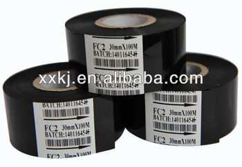 FC2 Black hot ribbon foil for lable coding machine