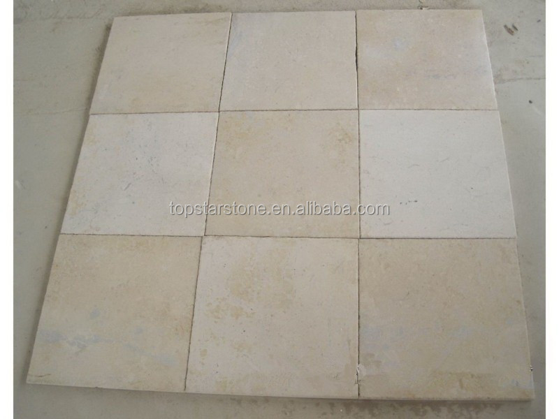 Cheap China Light Beige Yellow Limestone outdoor paving