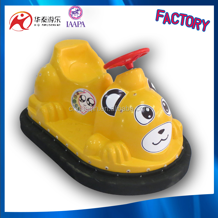 2015 happy car game bumper car coins blue animal shape bumper cars