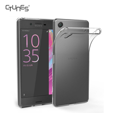 For Sony Xperia X Case, Soft TPU Cover Crystal Transparent Back Protector Shockproof Case For Sony Xperia X