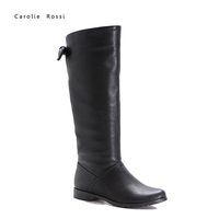 lady waterproof synthetic upper knee boots
