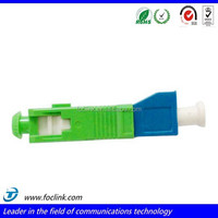 SC apc to LC apc fiber optic adapter,male to female adaptor for telecommunication