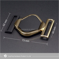 Hot product new design custom metal accessories belt buckle for shoe