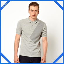 2012 most fashionable men clothing polo collar striped t shirt wholesale