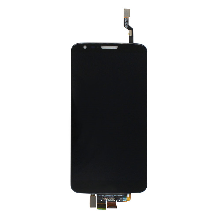 For LG G2 LCD D802 LCD Display Screen With Touch Screen Digitizer and Frame Assembly Black white