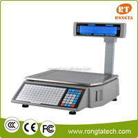 RS232 or TCP/IP interface for retail electronic weighing scales.thermal label printing