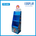 POP Corrugated cardboard pallet display stand baby shop display for diaper