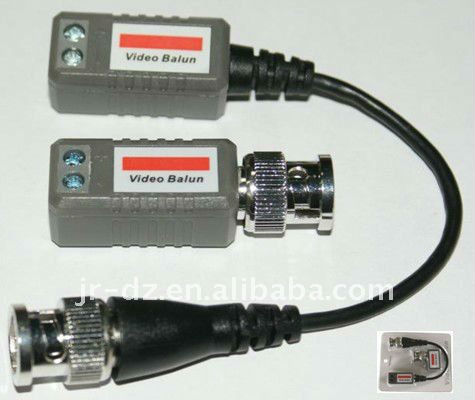 coaxial bnc video balun cctv video ground loop isolator