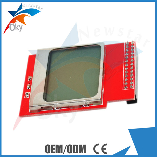 LCD Screen Display Module for Nokia 5110 DIY 84 * 48 Red display