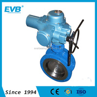 Butterfly Valve With Electric Actuator For