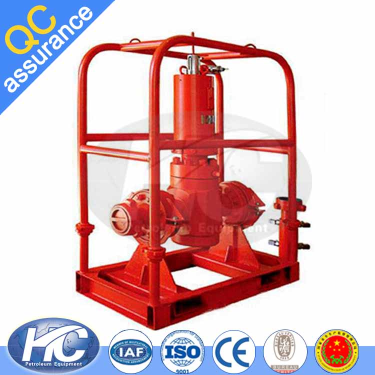 Oil well testing hydraulic surface safety valve/ safety relief valve/ pressure relief valve