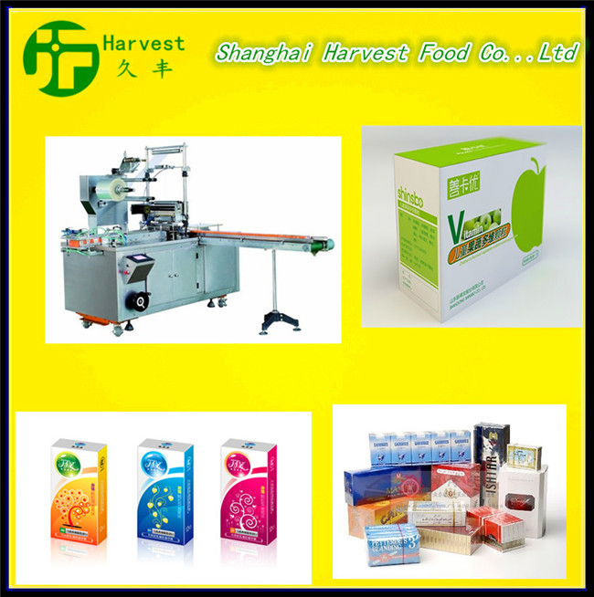 3D Cosmetic Box Transparent Film Packing Machine/Cellophane Over Wrapping Machine
