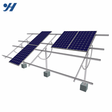 Favourable Price Aluminum Profile Solar Panel Pole Mounting System