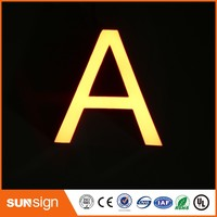business sign light letters type led channel letters vs neon