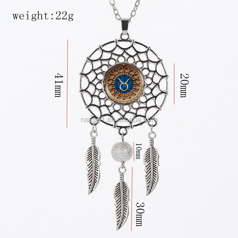 Fashion dream catcher necklace Wholesale XD-001