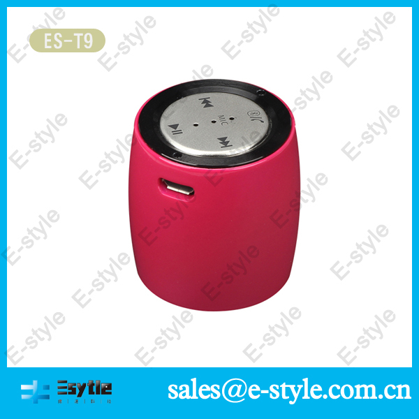 2014 new China Alibaba colorful wireless stereo bluetooth wireless speakers for motorcycle with microphone