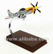 P-51 Mustang 1/32 Scale Model Wood