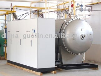 corona ozone generator for waste water treatment